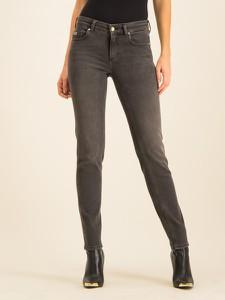 Czarne jeansy Versace Jeans w street stylu