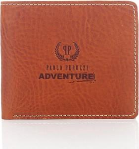 Brązowy portfel męski Paolo Peruzzi