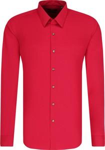 Czerwona koszula Hugo Boss