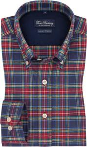 Koszula Tom Rusborg w stylu casual z bawełny z kołnierzykiem button down
