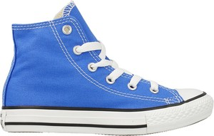 Niebieskie trampki dziecięce Converse sznurowane