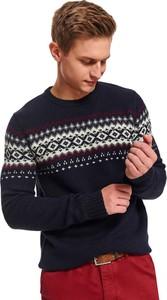 Sweter Top Secret z wełny