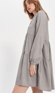 Sukienka House mini oversize w stylu casual