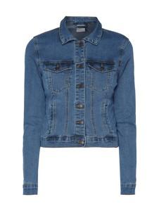 Niebieska kurtka Vero Moda z jeansu krótka w street stylu