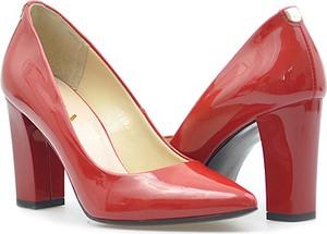 Czółenka Sala w stylu glamour na wysokim obcasie