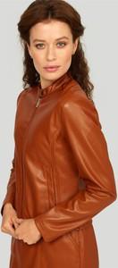 Brązowa kurtka Greenpoint krótka w stylu casual