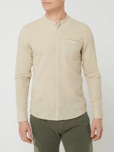 Koszula Q/s Designed By - S.oliver ze stójką z długim rękawem