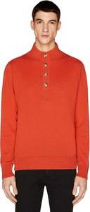 Czerwony sweter United Colors Of Benetton z kaszmiru