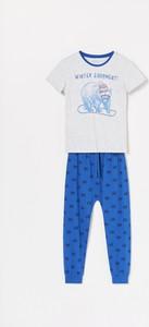 Niebieska piżama Reserved dla dziewczynek