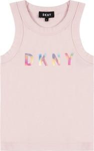 Bluzka dziecięca DKNY