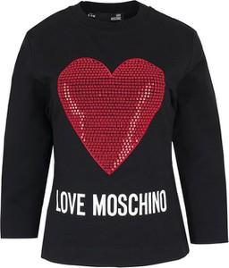 Bluza Love Moschino w stylu glamour