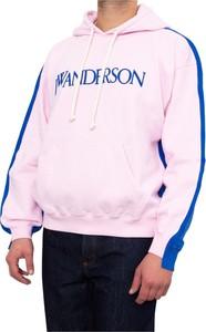 Różowa bluza Jw Anderson z bawełny