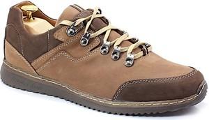 Brązowe buty trekkingowe Kent