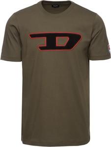 Zielony t-shirt Diesel