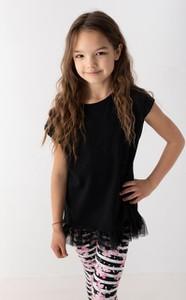 Czarna bluzka dziecięca Myprincess / Lily Grey z tiulu