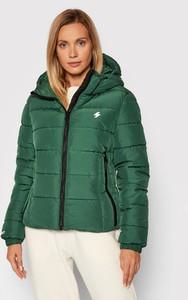Zielona kurtka Superdry z kapturem