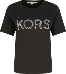 T-shirt Michael Kors w młodzieżowym stylu z krótkim rękawem