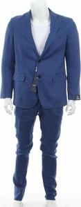 Niebieski garnitur Gutteridge