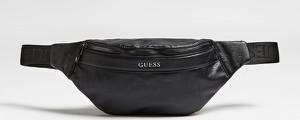 Czarna torba Guess ze skóry ekologicznej