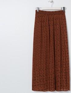 Brązowa spódnica Sinsay