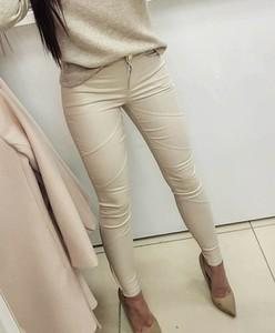 Butiklatika.pl spodnie woskowane sweet beige