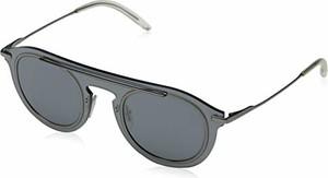 amazon.de Dolce & Gabbana okulary przeciwsłoneczne 0dg2169 04/6G męskie, czarne (grey Mirror Black/Grey Mirror Black), 46