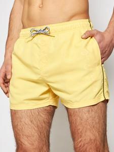 Żółte kąpielówki Pepe Jeans