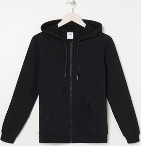 Czarna bluza Sinsay w stylu casual