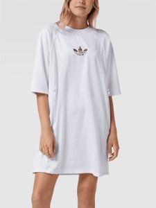 Sukienka Adidas Originals z długim rękawem mini w stylu casual