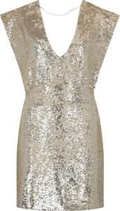 Sukienka Silvian Heach z dekoltem w kształcie litery v mini