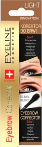 Eveline Eyebrow Corrector Light Brown 9 Ml