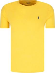 T-shirt POLO RALPH LAUREN w stylu casual z bawełny