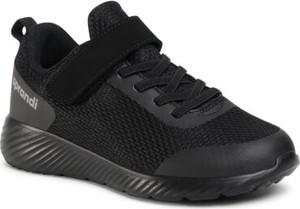 Czarne buty sportowe dziecięce Sprandi dla chłopców