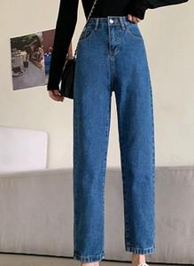 Niebieskie jeansy Arilook z jeansu w stylu casual