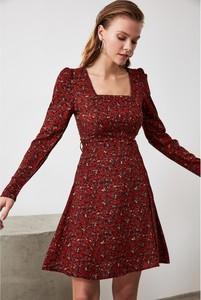 Czerwona sukienka Trendyol mini
