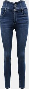 Niebieskie jeansy Tally Weijl w stylu casual z jeansu