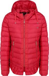 Czerwona kurtka Liu Jo Sport w stylu casual krótka