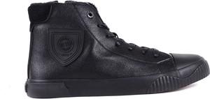 Buty zimowe Big Star ze skóry sznurowane