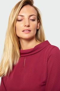 Czerwona bluzka Greenpoint w stylu casual