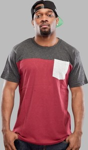 T-shirt Urban Classics z krótkim rękawem z bawełny