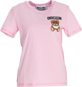 T-shirt Moschino z bawełny