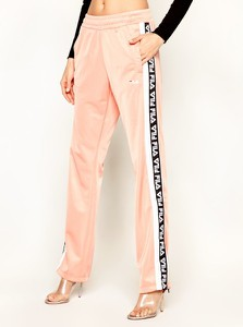 Spodnie sportowe Fila w sportowym stylu z nadrukiem