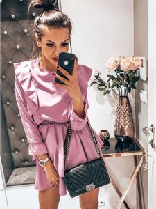Sukienka magmac.pl z długim rękawem