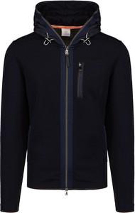 Granatowa bluza Bogner z wełny