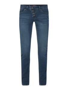 Niebieskie jeansy Buena Vista w stylu casual
