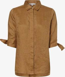 Bluzka Vg z krótkim rękawem z lnu