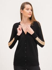 Czarny sweter Pinko w stylu casual