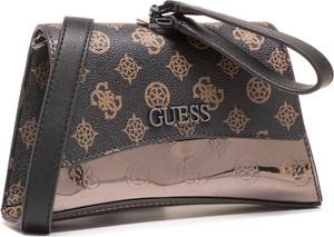 Brązowa torebka Guess ze skóry