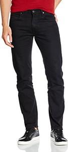 Czarne jeansy amazon.de z jeansu