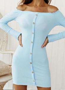 Sukienka Cikelly z długim rękawem mini ołówkowa